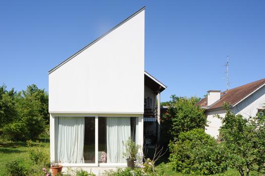 Christian dupraz architectes gen ve 2004 for Architecte pour agrandissement maison
