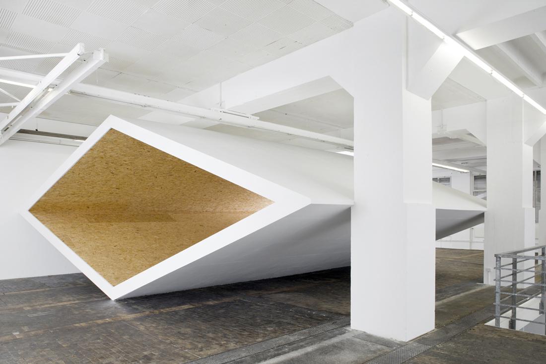 Christian Dupraz, Salle Blanche, BAC, Genve, 2012 © Annik Wetter